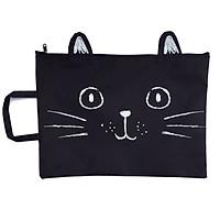 Túi Đựng Tài Liệu Hồ Sơ  Chống Nước Mèo Xinh Xắn