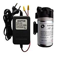 Bơm tăng áp dành cho máy lọc nước RO tặng Adaptor 24V