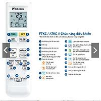 Remote ARC480A21 cho máy điều hòa Daikin - HÀNG CHÍNH HÃNG