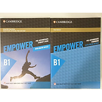 Combo 2 cuốn: Empower B1 Pre-Intermediate Student's Book with Online Access + Empower B1 Pre-Intermediate Workbook with Online Access