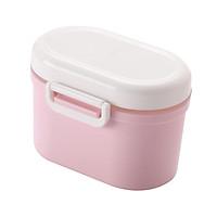 Baby Milk Powder Container Formula Food Storage Dispenser Sealed Pink Small