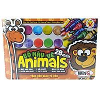 Chì Sáp Bộ Animals WinQ AN-01 (12 Màu)