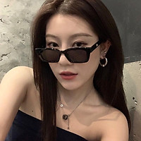 Kính mát nữ thời trang mắt vuông phong cách Hàn Quốc Hottrend 2021, kính râm chống tia UV 203