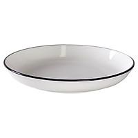 Đĩa súp Nordic Sense sứ trắng bóng