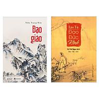 Combo 2 Cuốn Sách : Đạo Giáo +  Đạo Đức Kinh (Tặng kèm Bookmark Happy Life / Tác Phẩm Kinh Điển Trong Lịch Sử Văn Hóa Nhân Loại)