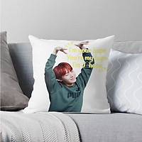 Gối in hình Jhope BTS gối vuông trang trí