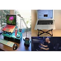 kệ kê laptop tản nhiệt chỉnh độ cao-Giá đỡ laptop lên cao xuống thấp chống mỏi nextstand