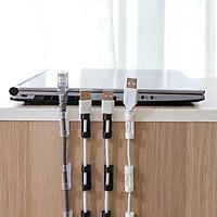Bộ 16 nẹp dây điện chống rối dán tường (giao màu nghẫu nhiên) - TP090