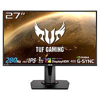 Màn Hình ASUS TUF GAMING VG279QM 27 inch Full HD (1920 x 1080) 1ms 280Hz ELMB SYNC, G-SYNC, Fast IPS, 2W x 2 Stereo RMS - Hàng Chính Hãng