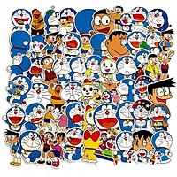Sticker 60 miếng hình dán Doraemon - hàng nhập khẩu