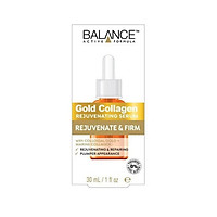 Tinh chất dưỡng  BALANCE GOLD COLLAGEN REJUVENATING SERUM 30ml