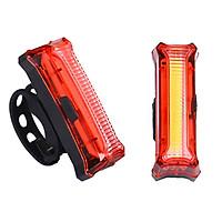 Đèn LED Nháy Sau Xe Đạp | Bicycle Tail Light HYD186 | Sạc USB Sáng Liên Tiếp 15 Giờ |  Khả năng hiển thị lên tới 150m