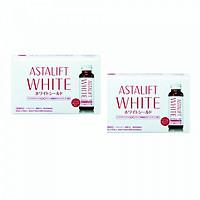 Combo 2 hộp thực Phẩm Chức Năng hỗ trợ làm sáng da Astalift White Drink Whiteshield