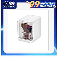 MBrush Handheld Printer Portable Mini Inkjet Printer Color Barcode Printer 1200dpi with Ink Cartridge APP for Customized