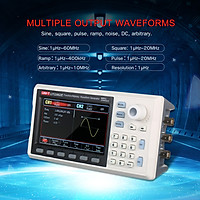 UNI-T Function/Arbitrary Waveform Generator 60MHz DDS Dual Channel Signal Generator Counter 200MSa/s Frequency Meter