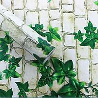 Cuộn 10m giấy dán tường họa tiết có keo sẵn chống nước khổ 10m x 0.45m