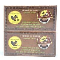 Cà phê phin giấy đơn Hộp Nâu Con Sóc - 02 Hộp