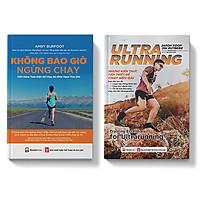 Sách - Combo Chạy bộ Những kiến thức để chạy đường dài Ultrarunning - Không bao giờ ngừng chạy - Pandabooks