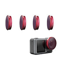 Bộ 4 kính lọc filter ND Osmo Action - Professional - Chính hãng PGYtech
