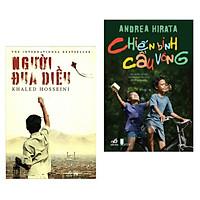 Combo 2 cuốn sách văn học hay nhất:  Người Đua Diều + Chiến Binh Cầu Vồng ( Tặng kèm Bookmark Happy Life)