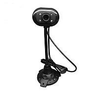 Thiết bị truyền hình ảnh Webcam Livestream cao cấp, siêu nét, Hỗ Trợ 4 Đèn LED siêu sáng Có Mic Đàm Thoại Thích Hợp các cuộc họp, hội nghị và học trực tuyến trên Zoom