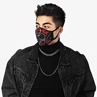 Khẩu trang thời trang cao cấp Soteria Rap ST183 - Khẩu trang vải than hoạt tính [size S,M,L] Van đen - size M