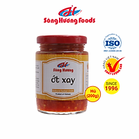 Ớt Tươi Xay Sông Hương Foods Hũ 200g