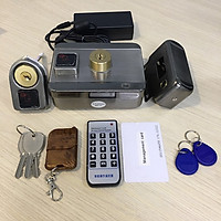 Khoá cổng thẻ từ điều khiển từ xa + Kèm nguồn adaptor 12V-3A