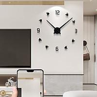 Đồng hồ dán tường DIY mũi tên thời gian