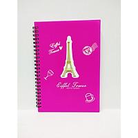Sổ Lò Xo Eiffel Tower A6 (Màu Ngẫu Nhiên)