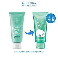 Sữa rửa mặt hỗ trợ trị mụn Senka Perfect Whip Acne Care 100g