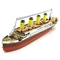 Mô hình thép 3D tự ráp tàu Titanic màu