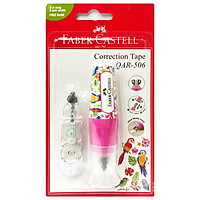 Bút Xoá Kéo Nắp Đậy QAR 506-6M - Fancy Light Pink + 1 Refill
