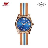 Đồng hồ Nữ Fossil dây da ES4591