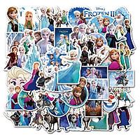 Elsa, Frozen Stickers set 60 ảnh có ép lụa