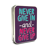 Hộp thiếc Vintage Box - Never give up