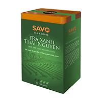 Trà Xanh SAVO Thái Nguyên (Thai Nguyen Green Tea) - Hộp 2 Túi x 100g