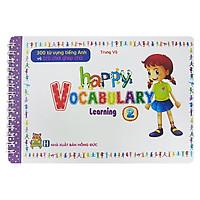 300 Từ Vựng Tiếng Anh Và Trò Chơi Ghép Chữ - Happy Vocabulary - Learning 2