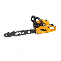Máy cưa xích xăng INGCO GCS45185 1.8KW - 445mm