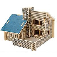 Mô hình lắp ghép 3D bằng gỗ The Dream House