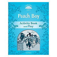 Classic Tales Second Edition Level 1 Peach Boy Activity Book & Play