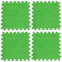 Bộ 4 tấm Thảm xốp lót sàn an toàn Thoại Tân Thành - màu xanh chuối (50x50cm)