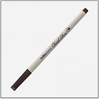 Bút lông đầu cọ viết calligraphy Artline Supreme Brush EPFS-F - Màu nâu tối (Dark Brown)