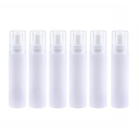 Empty Spray Bottles - 6x Refillable Bottle Great for Essential Oils, Beauty Products, Homemade Cleaners and Aromatherapy & Fine Mist Dispenser