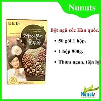 Bột ngũ cốc Damtuh Hàn Quốc 900g (1 hộp 50 gói, mỗi gói 18g)