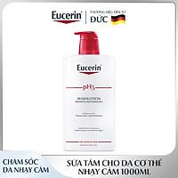Sữa Tắm Cho Da Cơ Thể Nhạy Cảm Eucerin pH5 Skin-Protection Washlotion 1000ml