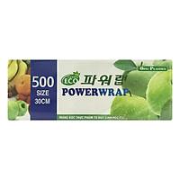 Màng Bọc Thực Phẩm Power Wrap PVC Tự Hủy Sinh Học 9 Mic x 300 mm x 500 m