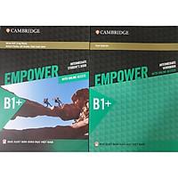 Combo 2 cuốn: Empower B1+ Intermediate Student's Book with Online Access + Empower B1+ Intermediate Workbook with Online Access