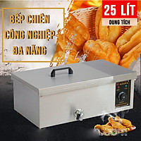 Bếp chiên, nhúng khoai tây, gà rán, thực phẩm công nghiệp 25L NEWSUN - Hàng chính hãng