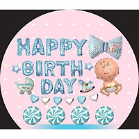 combo bóng trang trí sinh nhật cho tiệc sinh nhật của bé